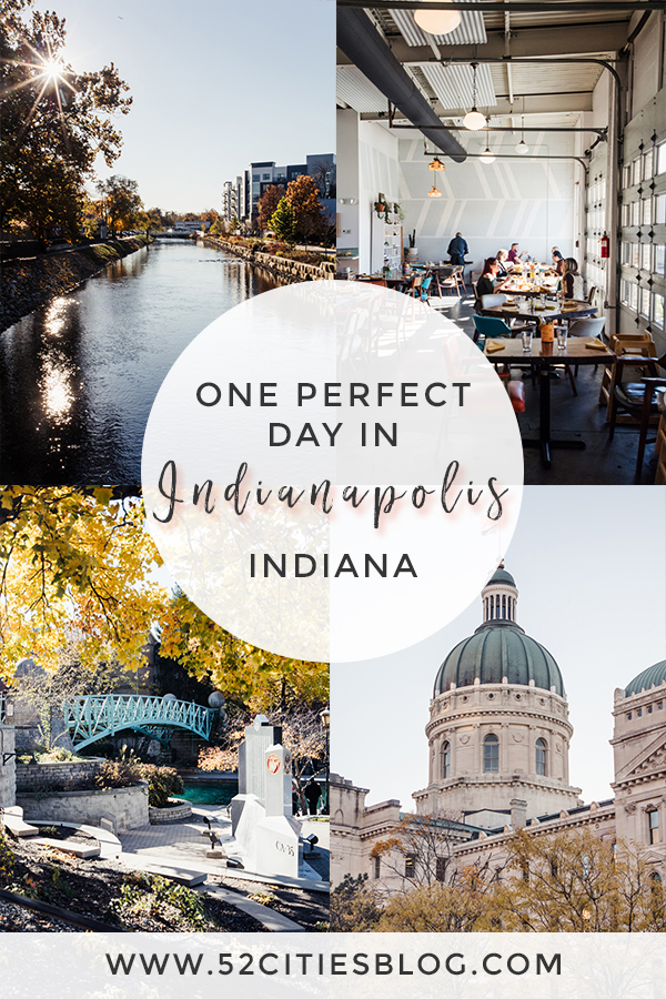 One perfect day in Indianapolis Indiana