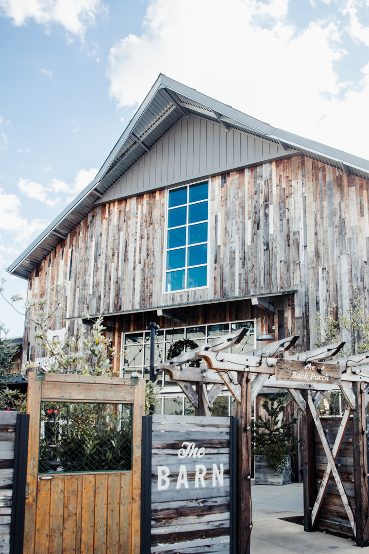 The Barn food hall exterior