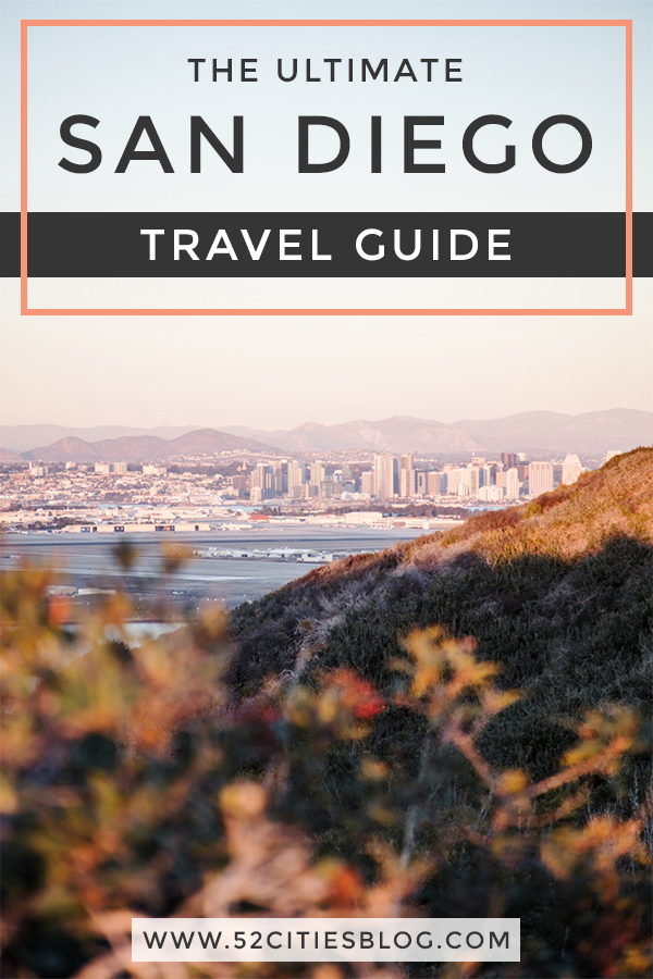 Planning a trip to San Diego? Here's everything you need to know, including where to stay, what to see and where to eat! Click here to get your San Diego travel guide.  #SanDiego #California #TravelGuide #CityGuide #USTravel #UnitedStates #USATravel #TravelUSA #TravelTips #TravelHacks #BestTravelTips #TravelAdvice #TravelGuideLayout #TravelAddict #TravelInspo #VacationIdeas #NextVacation #TravelBlogger #TravelBlog #52CitiesBlog