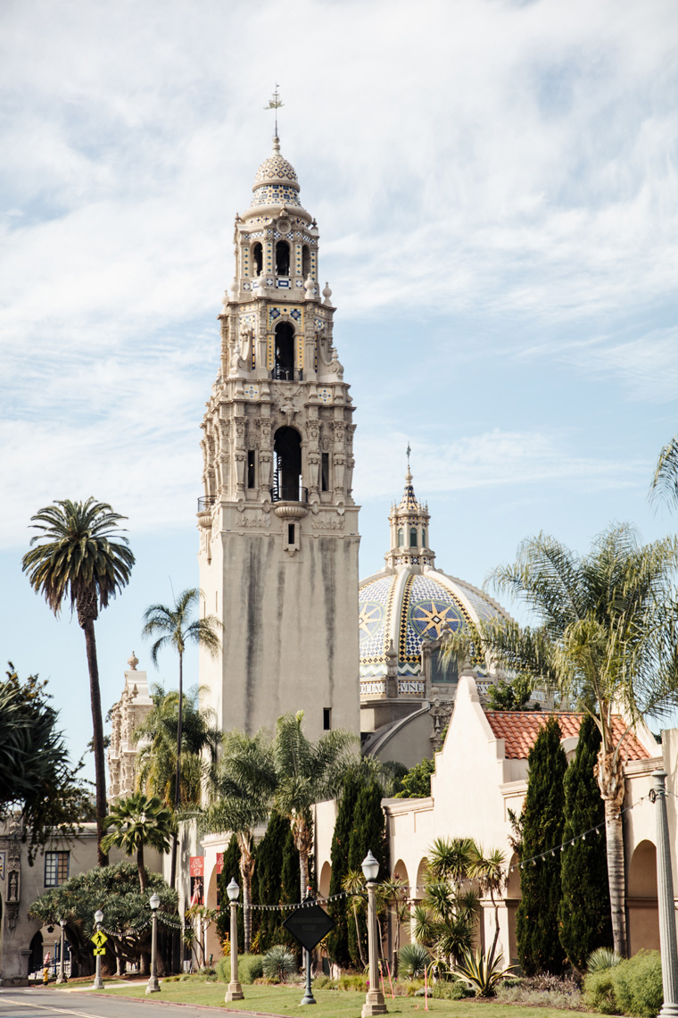 Tower in Balboa Park