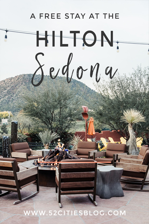 A free stay at the Hilton Sedona