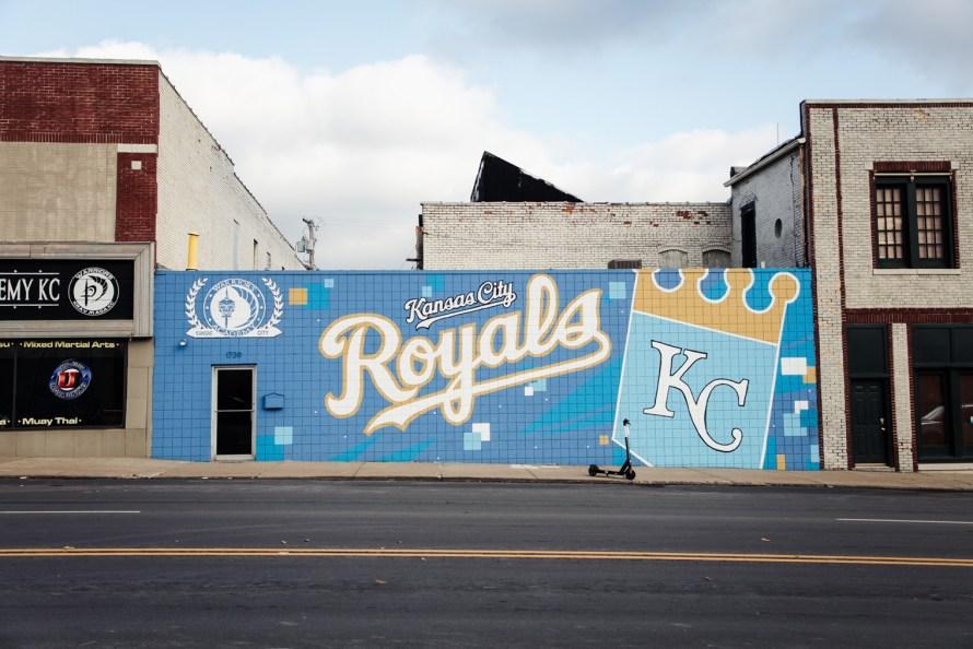 Kansas City Royals street art