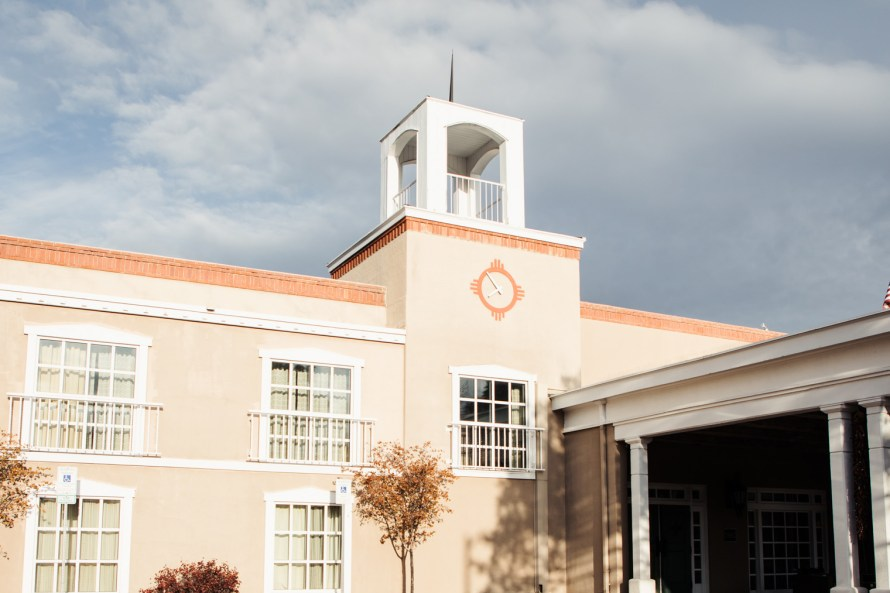 Hilton Santa Fe Historic Plaza exterior