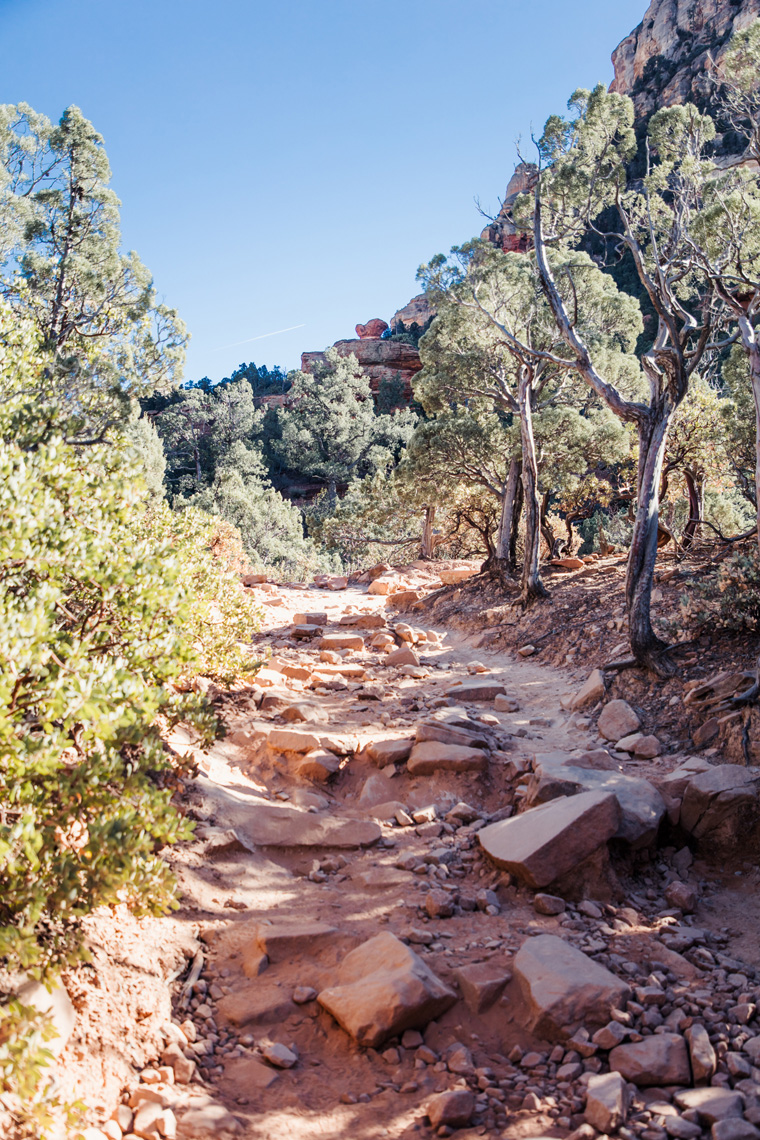 Devil's Bridge hiking trail