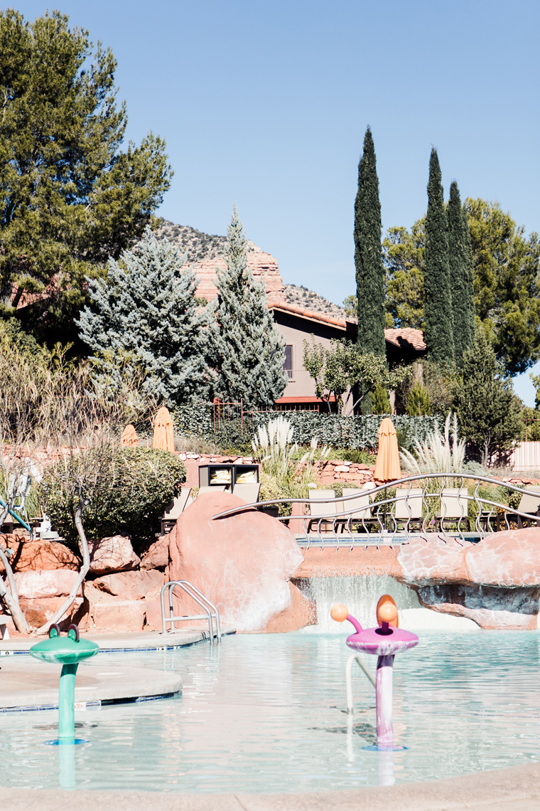 children's pool at Hilton Sedona Resort at Bell Rock