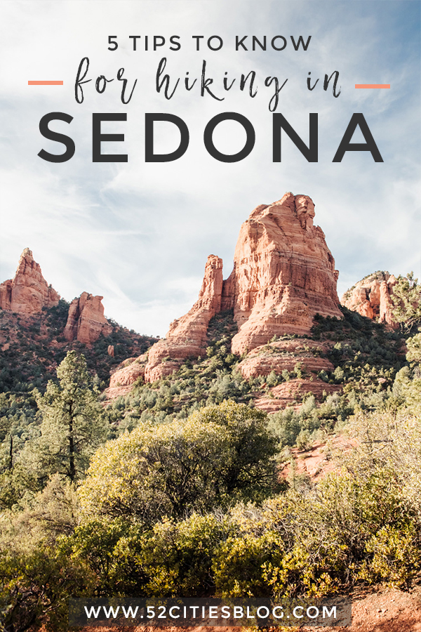 5 tips to know for hiking in Sedona