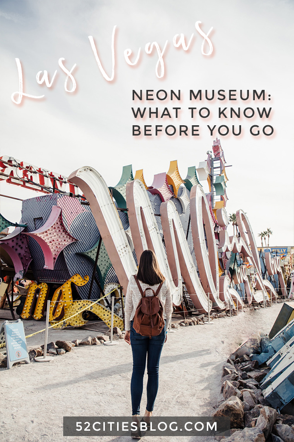 Las Vegas Neon Museum: What to know before you go