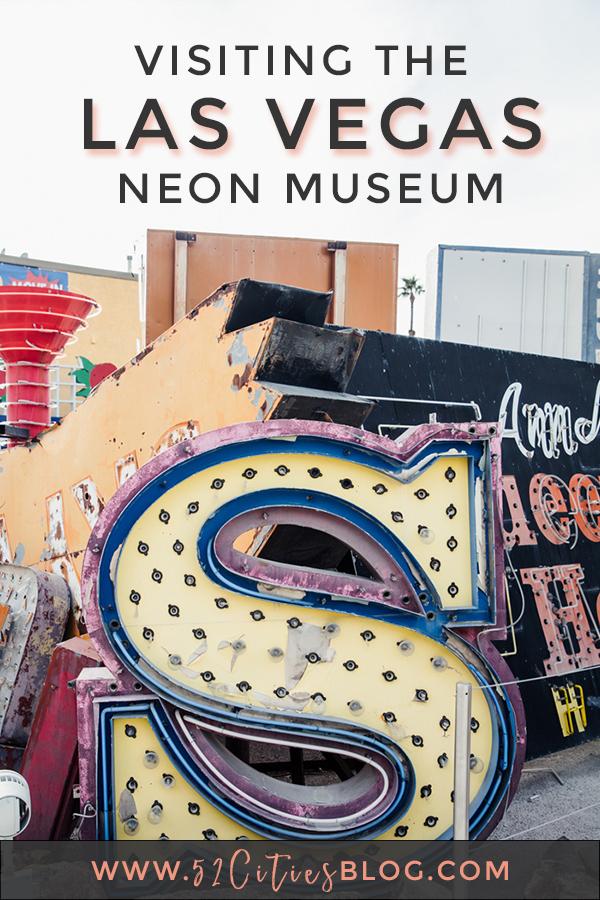 Visiting the Las Vegas Neon Museum