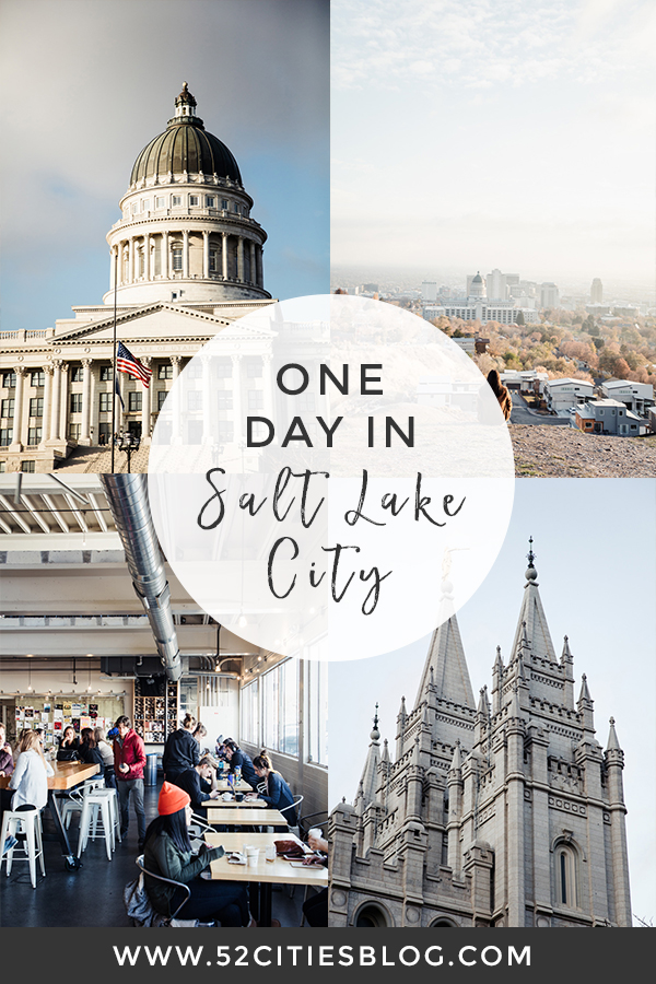 One day in Salt Lake City