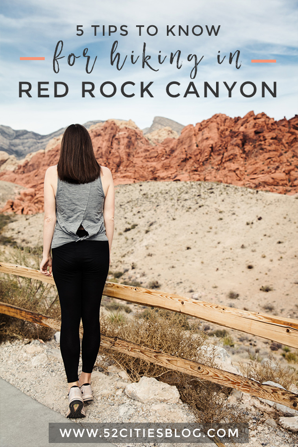 5 tips to know for hiking in Red Rock Canyon