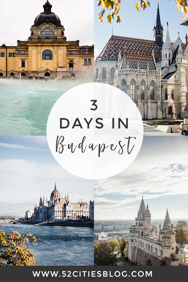 3 days in Budapest by 52 Cities
