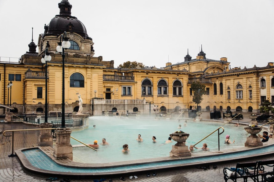 3 days in Budapest - Szechenyi Thermal Baths