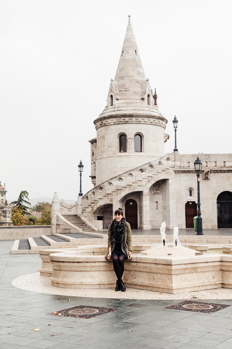 Carly at Fisherman's Bastion