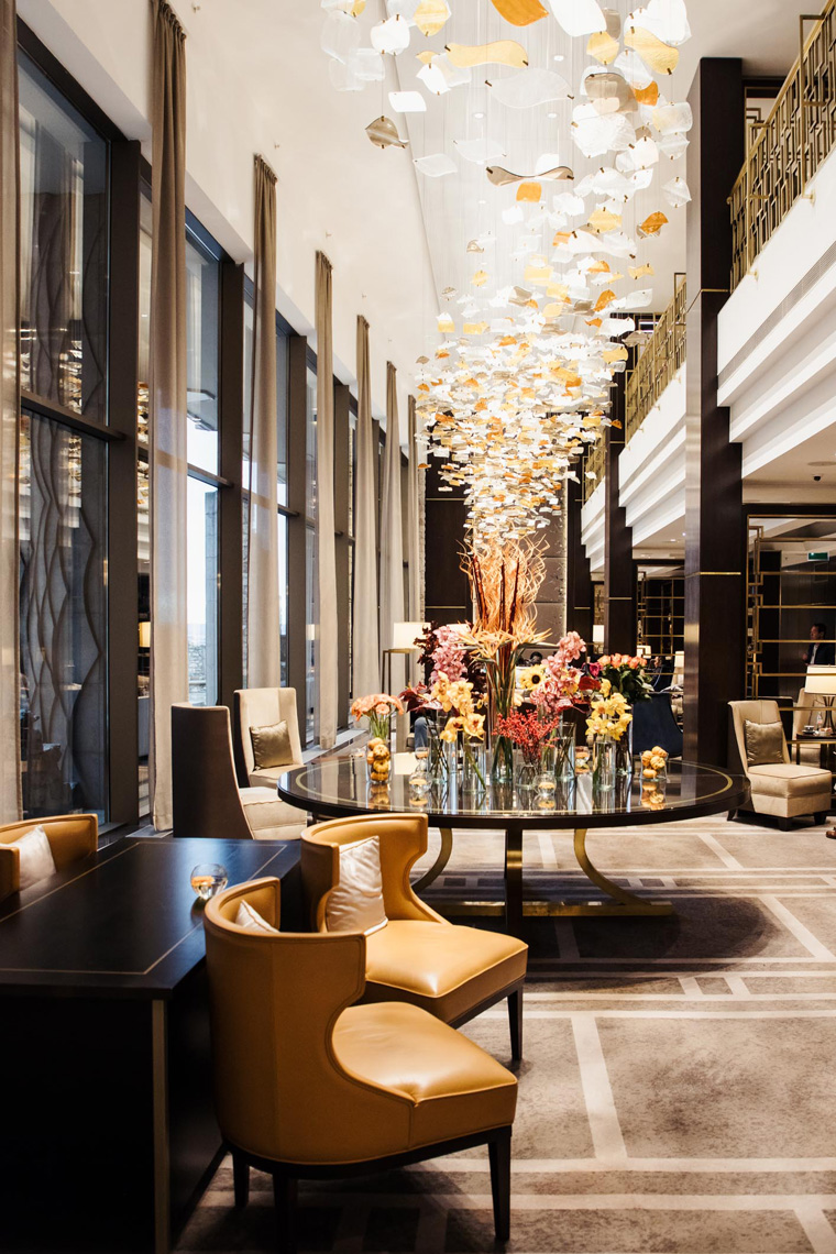 Hilton Budapest lobby