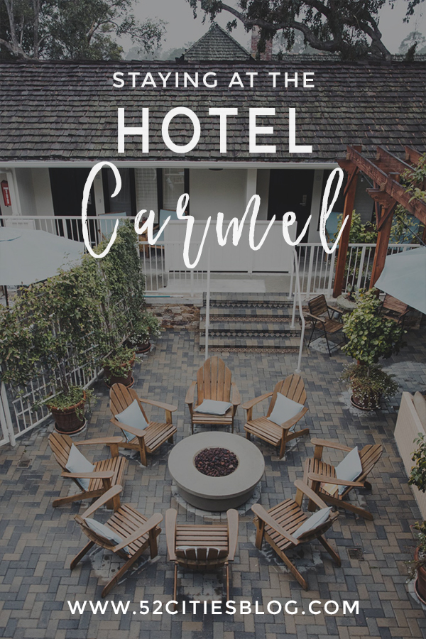 Staying at the Hotel Carmel