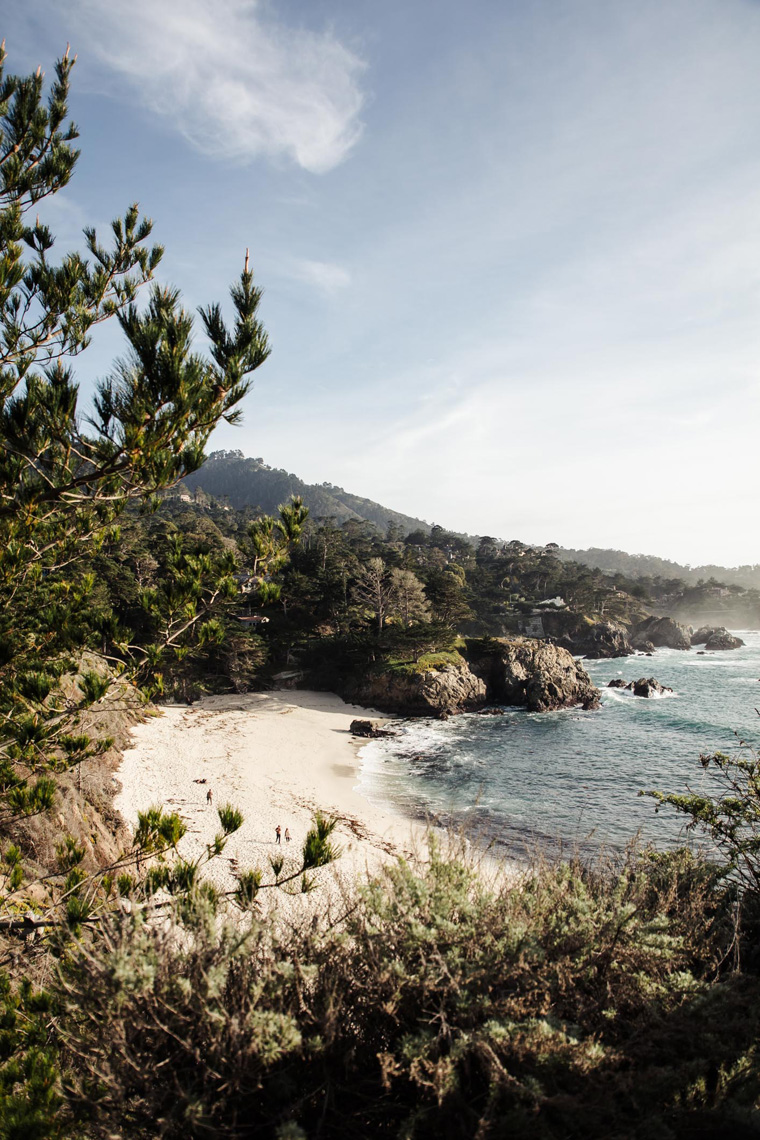 Point Lobos beach