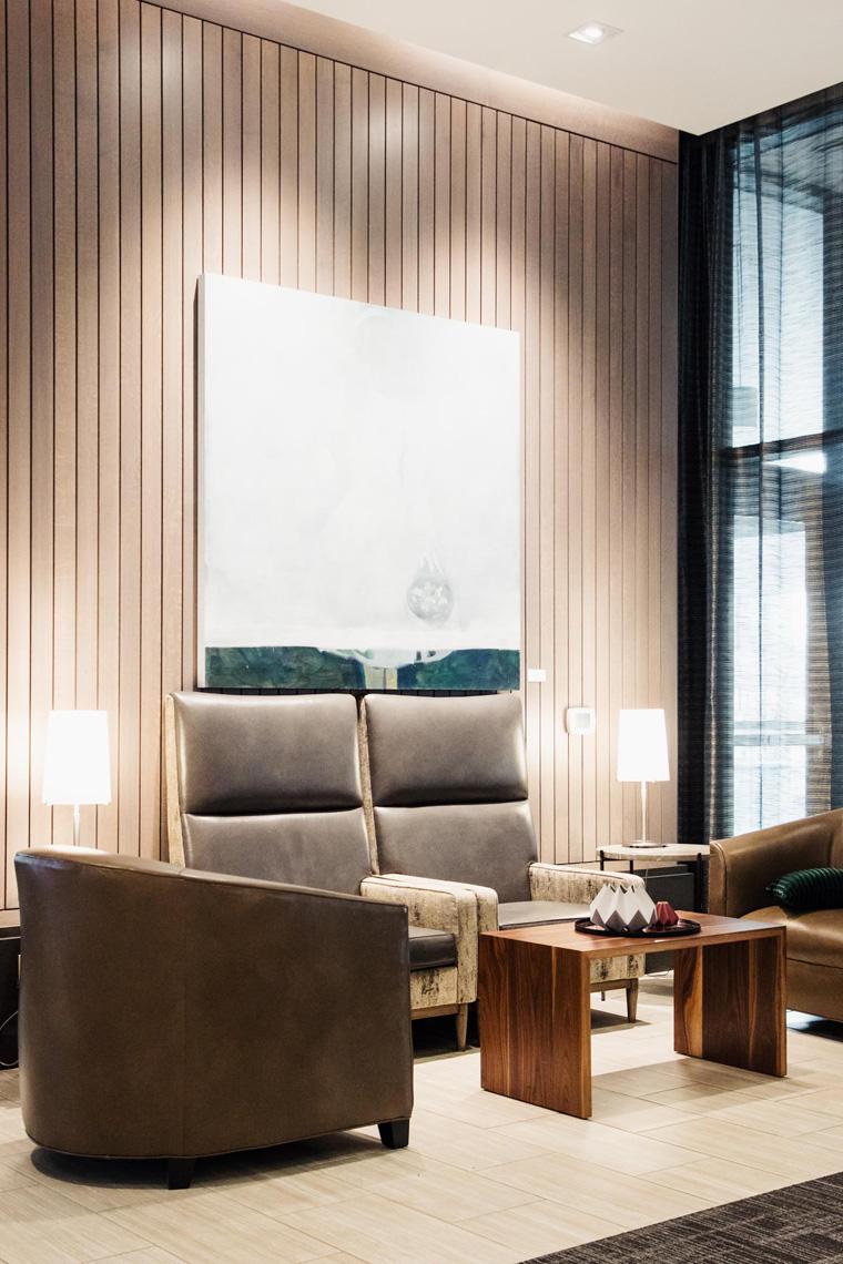 AC Hotel Bellevue lobby chairs