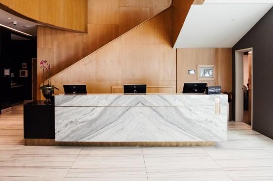 Charter Hotel Seattle front desk