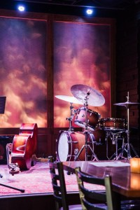 Drum set and bass