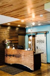 Oxbow Hotel check-in desk