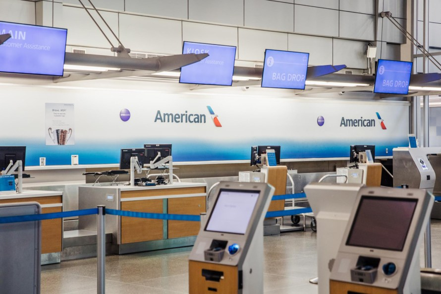 American Airlines checkin