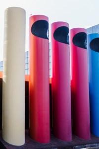 rainbow columns