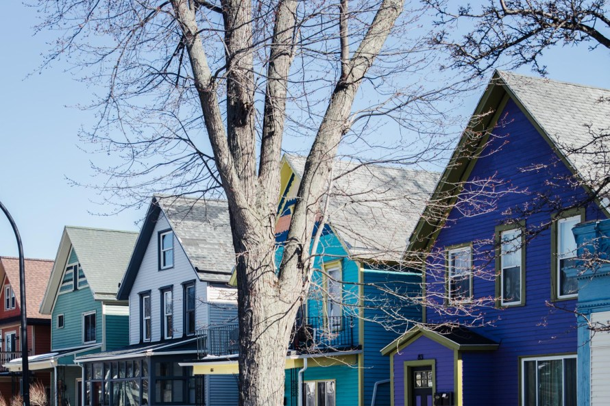 Colorful houses are must-see Buffalo attractions