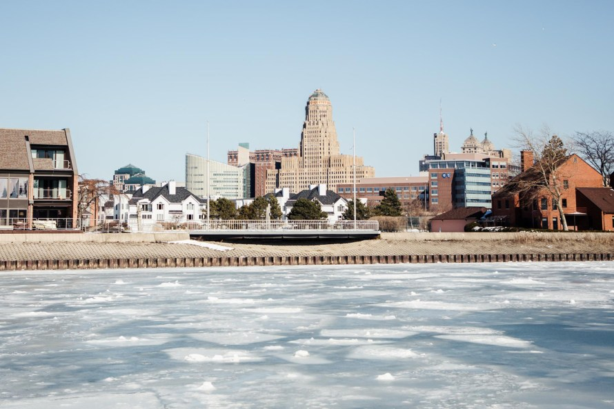 Buffalo skyline, must-see Buffalo attractions