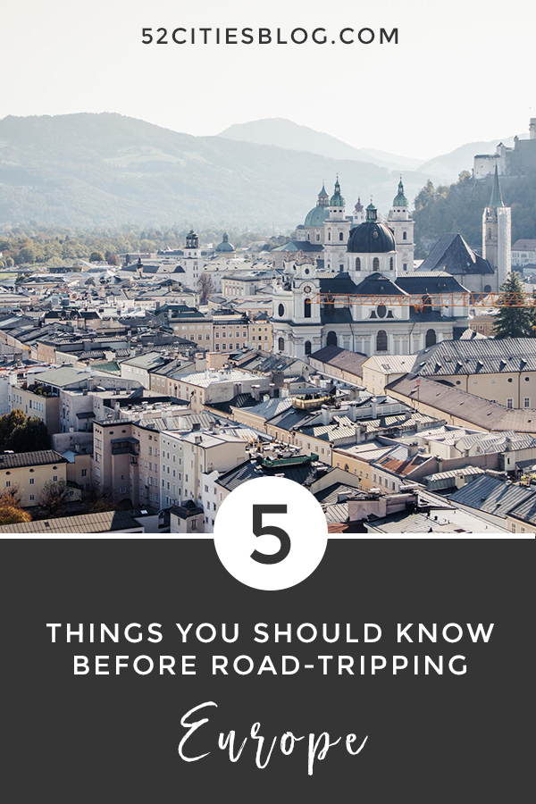 5 tips for the Europe road trip planner - Things you should know