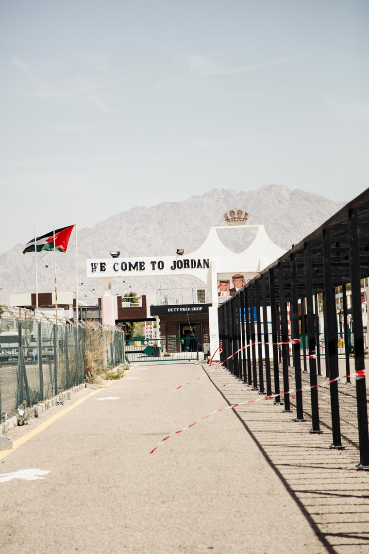 Welcome to Jordan sign