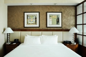 MGM Signature hotel bed