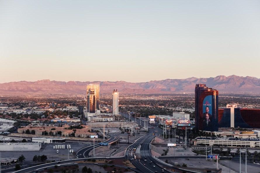 Sunrise Las Vegas view