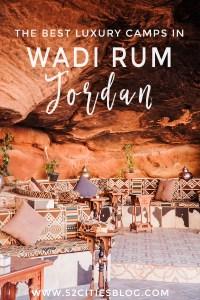 The best luxury camps in Wadi Rum Jordan