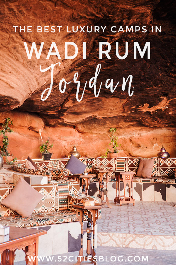 The best luxury camps in Wadi Rum Jordan