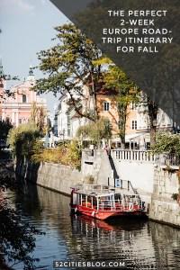 Driving through Europe: 2-week fall road trip itinerary