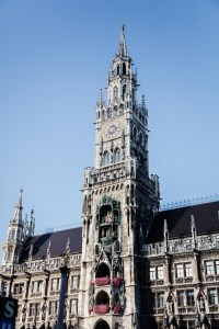Munich clock tower