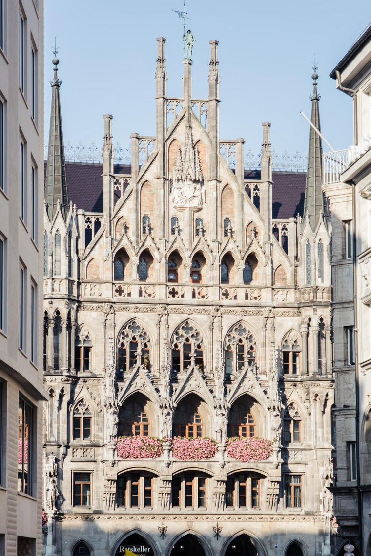 Munich church facade