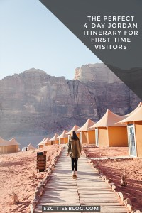 The perfect 4-day Jordan itinerary for first-time visitors