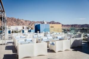 DoubleTree Aqaba rooftop bar