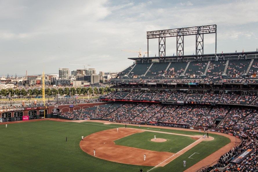 Oracle Park, most Instagrammable places in San Francisco