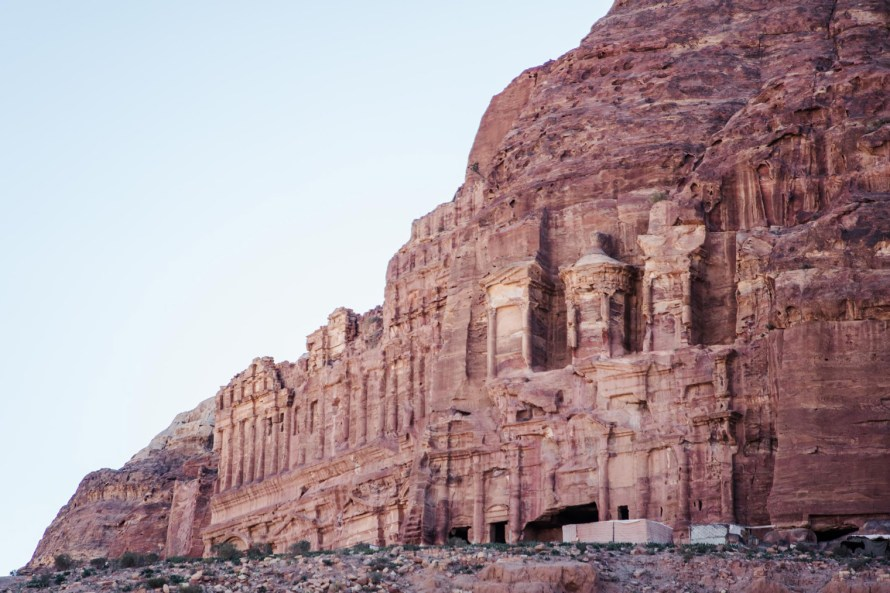 Petra rock carvings