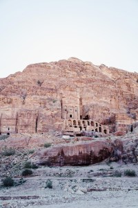 Petra cave dwelling