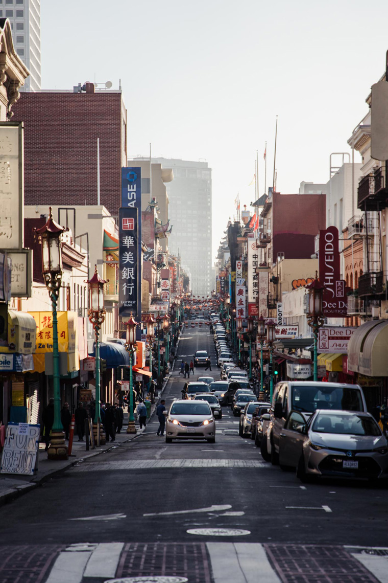 Chinatown, most Instagrammable places in San Francisco