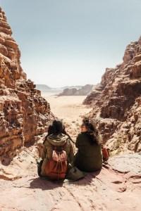 Wadi Rum rock ledge