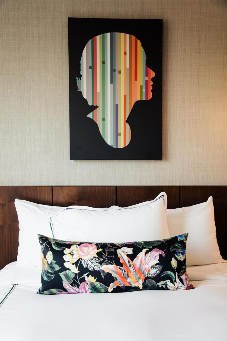 Darcy hotel bed