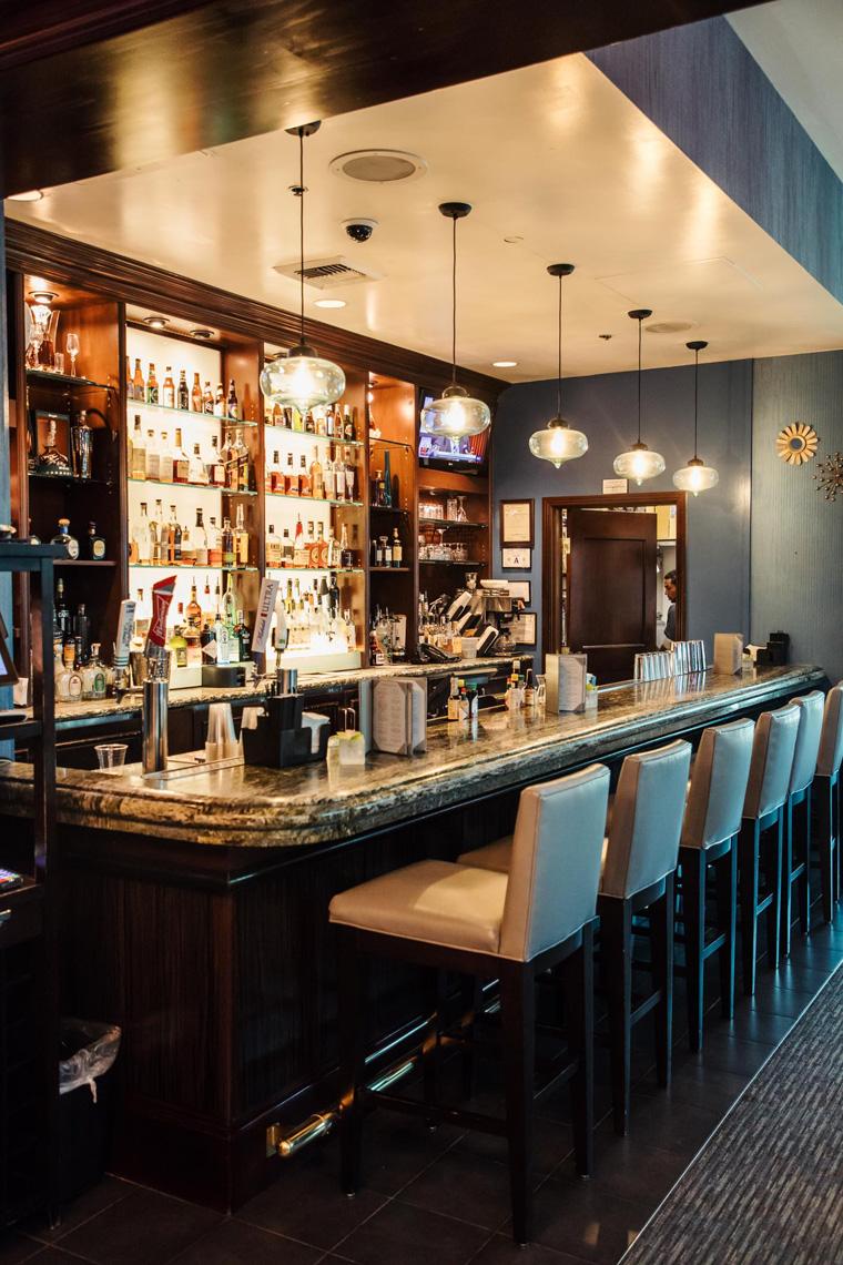Signature hotel bar