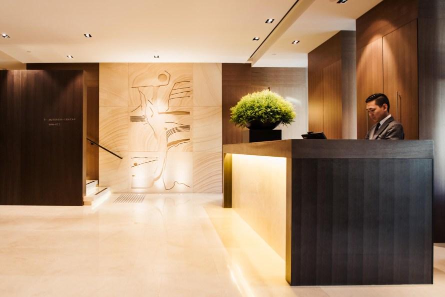 Park Hyatt Sydney lobby