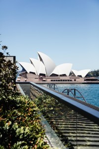 Sydney Opera House rooftop view