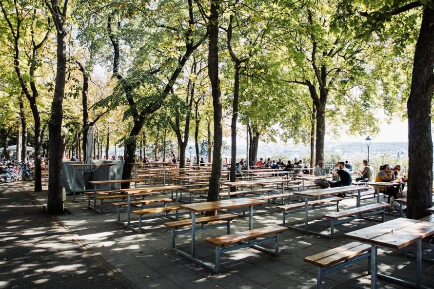 Letna Park beer garden - fun things to do in Prague