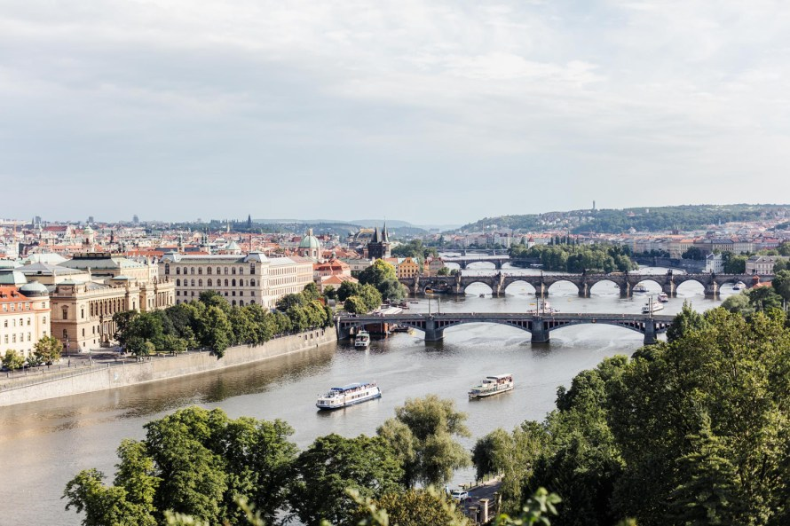 Vltava River - Prague two day itinerary